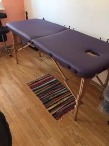 пример ремонта массажного стола